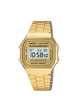 5ef733dcf07a Product Image Casio Men s  Vintage  Digital Illuminator Gold-Tone Stainless  Steel Watch ...