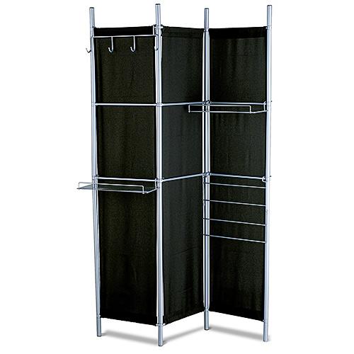 Hang It Up Folding Screen- Black