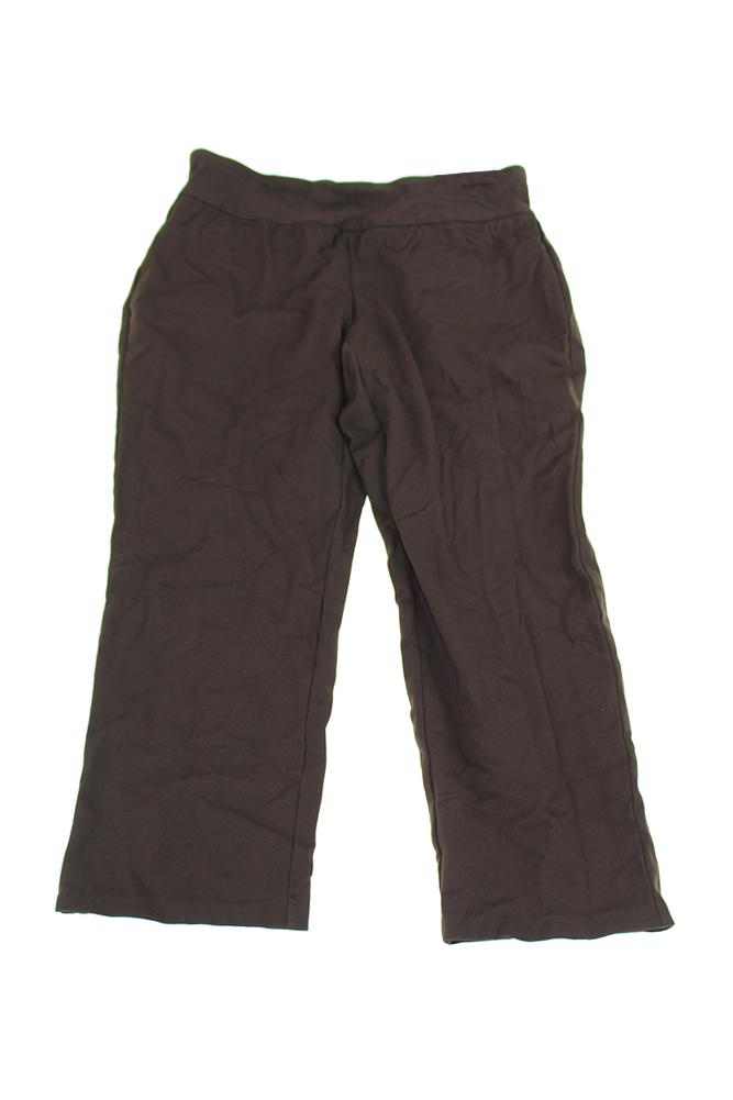 Charter Club Plus Size Truffle Straight-Leg Pull- On Pants 16W