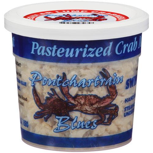 Pontchartrain Blues Pasteurized Crab Meat, 8 oz