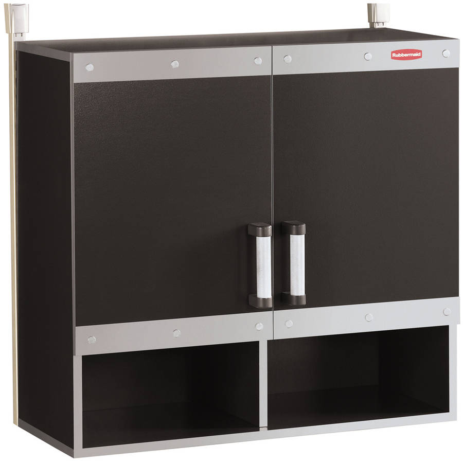 Rubbermaid FG5M1600CSLRK Fast Track Hanging Wall Cabinet