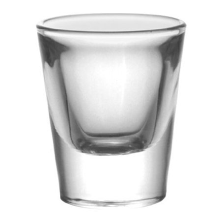 BarConic? 1 ounce Thick Base Clear Shot Glass (12 Pack)](1 Oz Shot Glass)