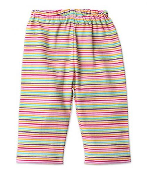 Zutano Baby Girls Pool Blue Candy Stripe Skinny Leggings New