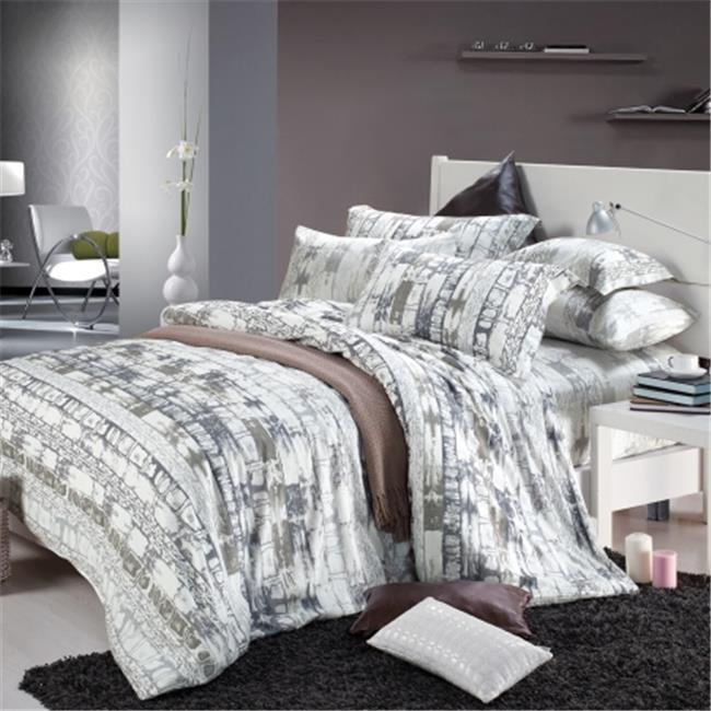 North Home NHSSTWPR0078 North Home Heritage 100 percent Cotton Sheet Set - Twin