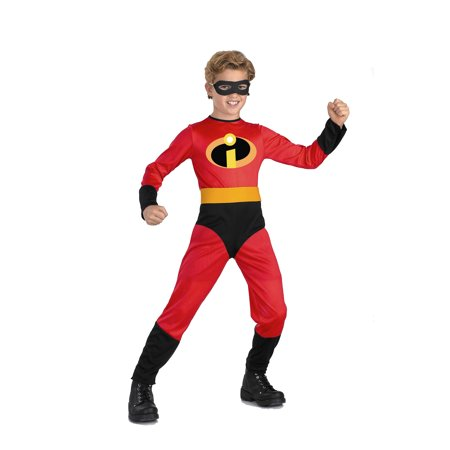 Dash Incredible Child Costume From Disney's The Incredibles DIS5904 - 3T-4T