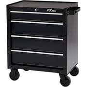 """Hyper Tough 4-Drawer Rolling Tool Cabinet with Ball-Bearing Slides, 26""""W"""