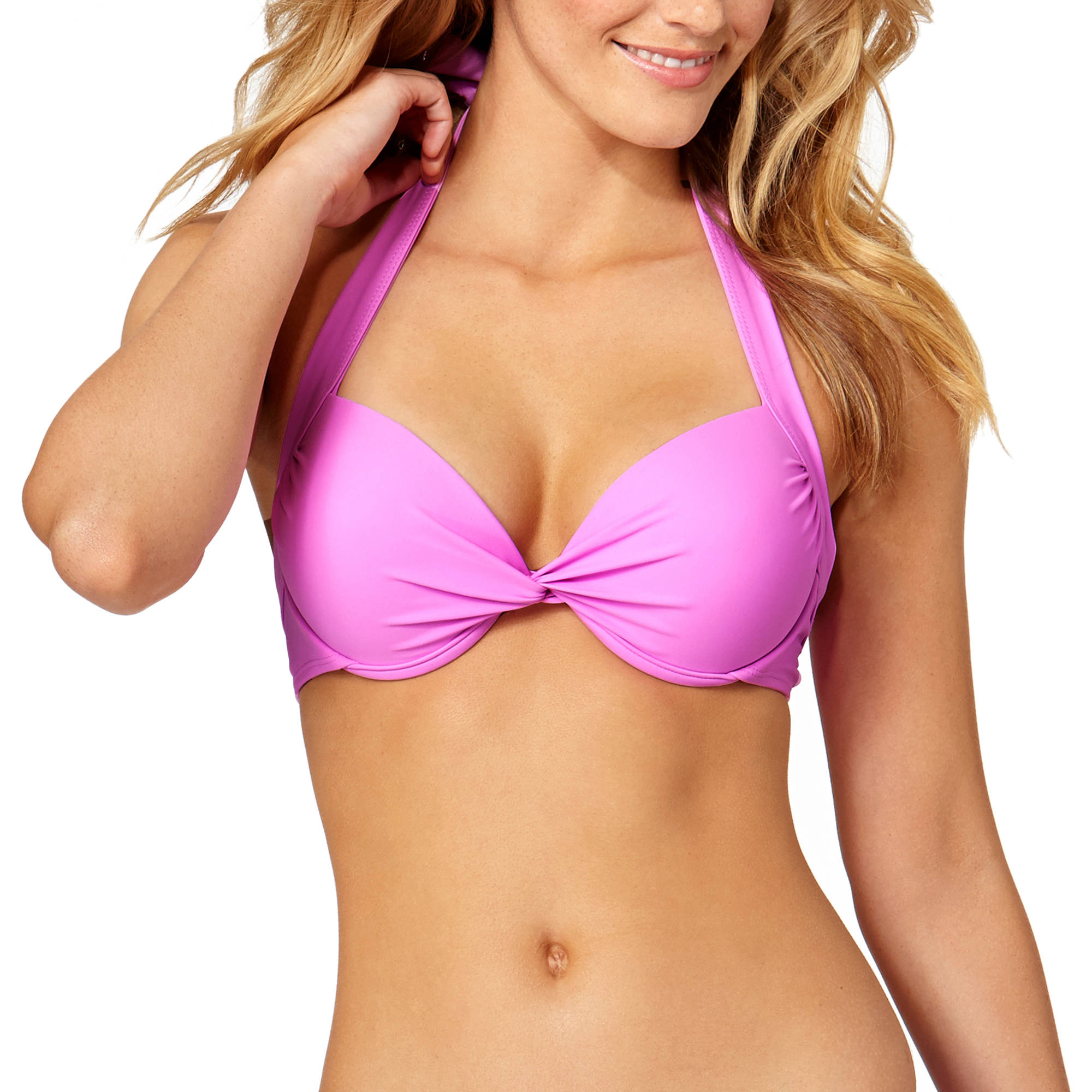 Tahiti Women's Lavender Push Up Bikini Top