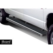 iBoard Running Board For Dodge RAM Mega Cab 4 Full Size Door With Extra Space