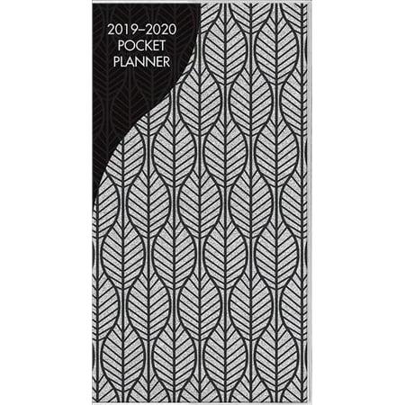 Glitter Silver 2019-2020 Pocket Planner, Paperback by Trends International  (C