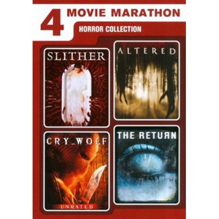 4 Movie Horror (DVD) - Horror Movies Watch Halloween