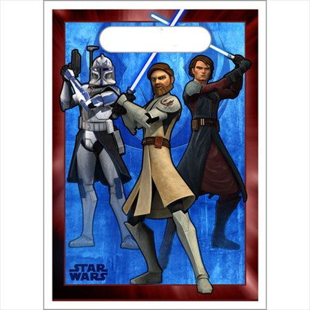 Star Wars 'The Clone Wars' Favor Bags (8ct) (Star Wars Favor Bags)