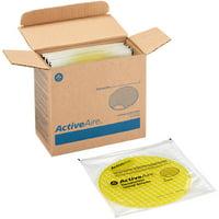 ActiveAire, GPC48271, Deodorizer Urinal Screen by GP PRO, 12 / Carton, Yellow
