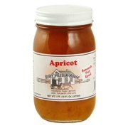 Byler's Relish House Homemade Amish Country Apricot Jam Fruit Spread 16 oz.