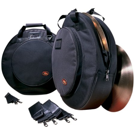 Humes & Berg Galaxy Deluxe Cymbal Bag with Padded Dividers Black 22