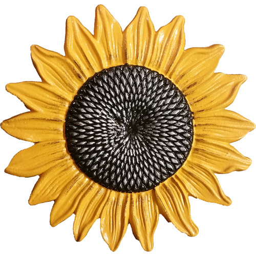 Oakland Living Sunflower Stepping Stone (Pack of 6) (Set of 6) by Oakland Living Corporation
