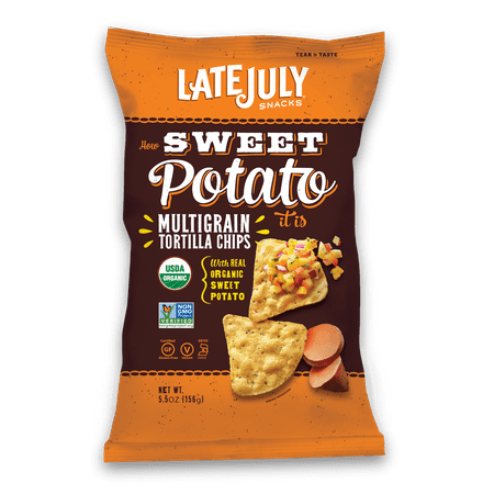 Late July Snacks Late July How Sweet Potato It Is Chips 5.5 Ounce