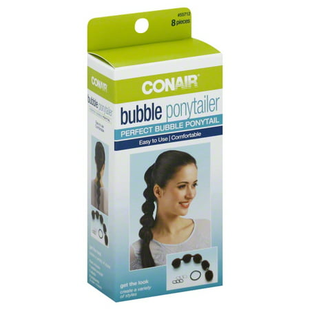 Bubble Ponytailer Hair Kit, 8 pc (Hair Baubles)