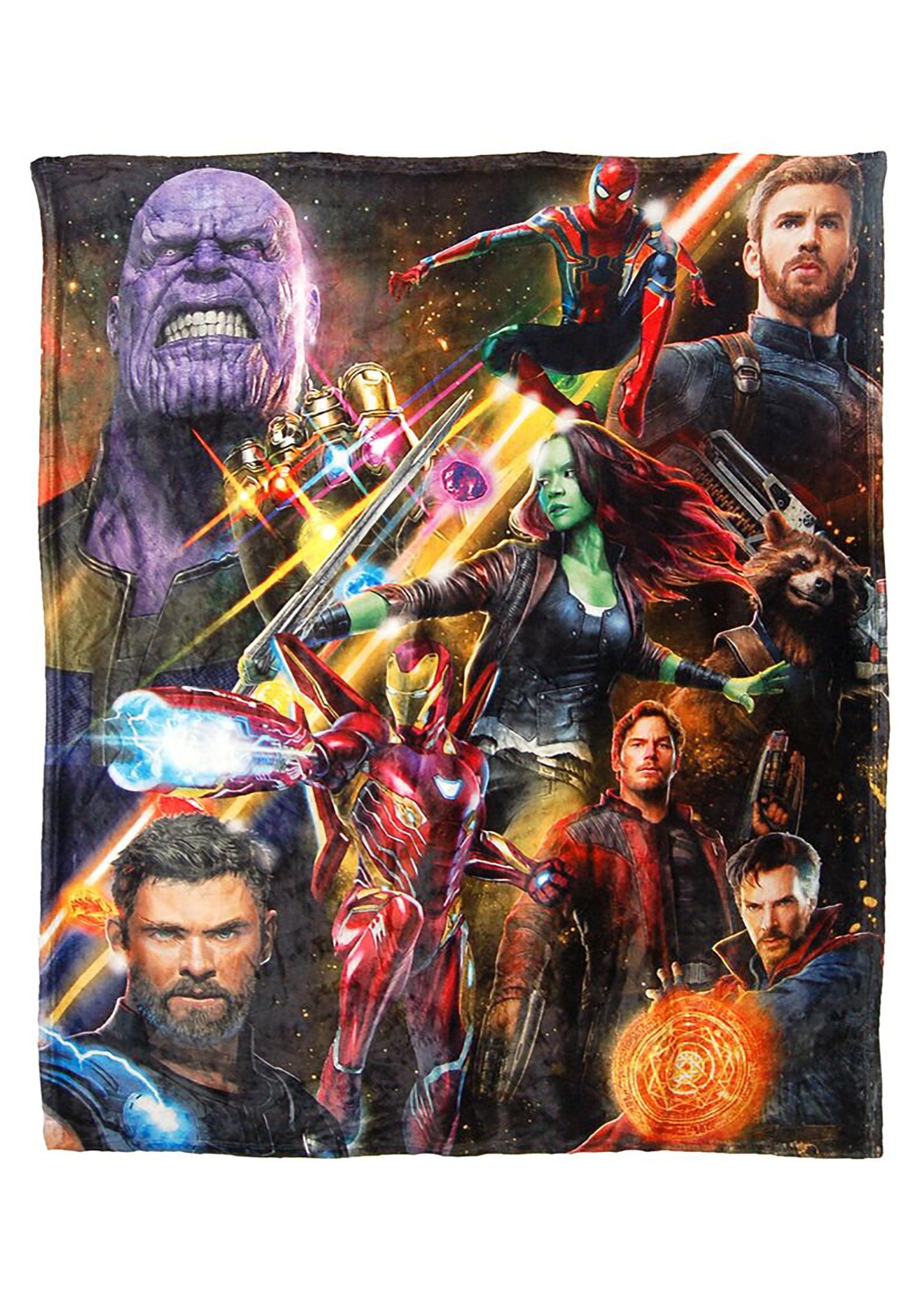 """Avengers Infinity War 50"""" x 60"""" High Def Throw - Walmart.com"""