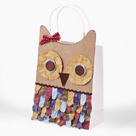 Lot of 12 Plain White Medium Paper Gift Craft Bags, Bags measure 6 1/2
