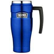 Thermos 16 Ounce Handle Black Mug