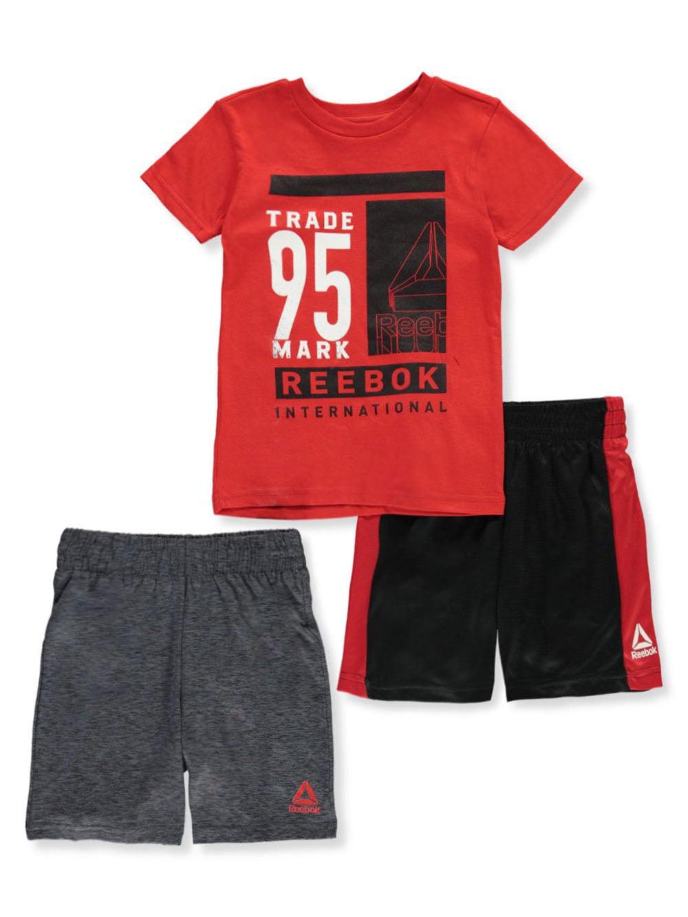 Reebok Little Boys 3-Piece Jogger Set