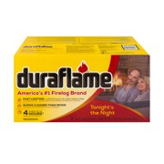 Duraflame 6lb 4hr Firelogs - 6pk - Easy To Light And Clean-Burning Fireplace Log