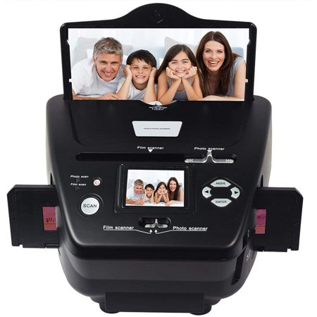 DIGITNOW Photo Scanner 35mm/135slides&Negatives Film Scanner Photo, Name Card, Slides and Negatives to Digital Converter for Saving Films to Digital Files in 4GB SD Card(Included) with Photo Editing (Wolverine Digital Photo Converter)
