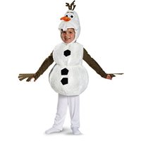 Baby's Disney Frozen Olaf Deluxe Toddler Costume by Disguise Costumes
