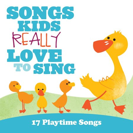 Songs Kids Really Love to Sing: 17 Playtime Songs (Audiobook) (CD)](Big Kids Halloween Songs)