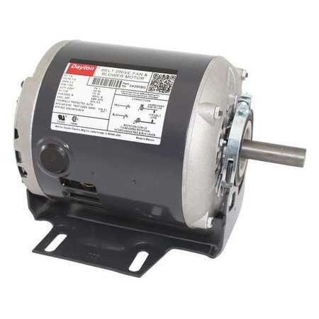 - Dayton 5K260 1/4 HP Belt Drive Motor, Split Ph