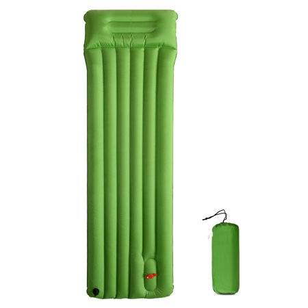 Inflatable Camping Pad Outdoor Quick Inflating Sleeping Pad Hiking Backpacking Picnic Beach Mat Ground