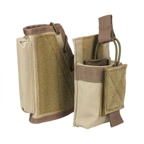 NcStar Stock Riser with Mag Pouch, Tan