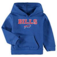 Toddler Royal Buffalo Bills Team Fleece Pullover Hoodie
