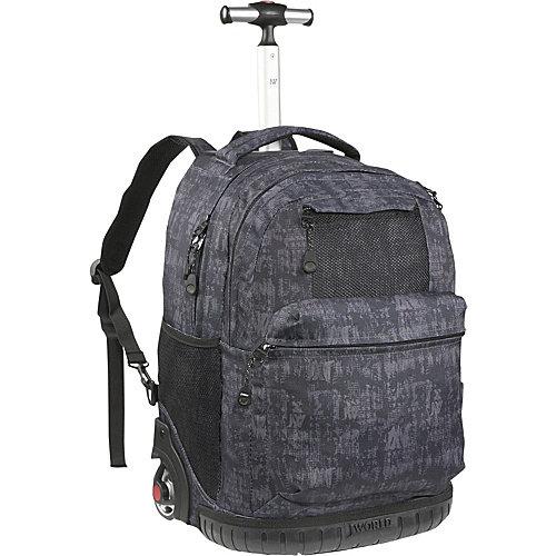 J World New York Overhill Laptop Rolling Backpack
