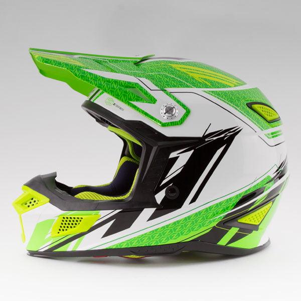 Zox Z-MX10 Concept Offroad Helmet Hi-Viz Green