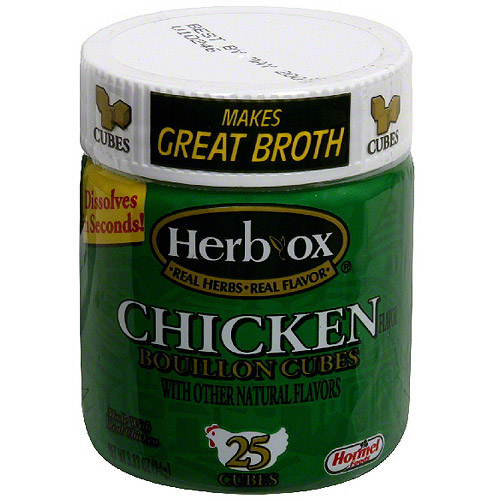 Herb-Ox Chicken Bouillon Cubes, 3.33 oz (Pack of 12)