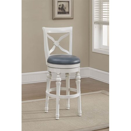 livingston bar stool in cornflower counter height stool walmart