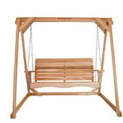 All Things Cedar AF72Us Swing with A-Frame Set- Western Red Cedar