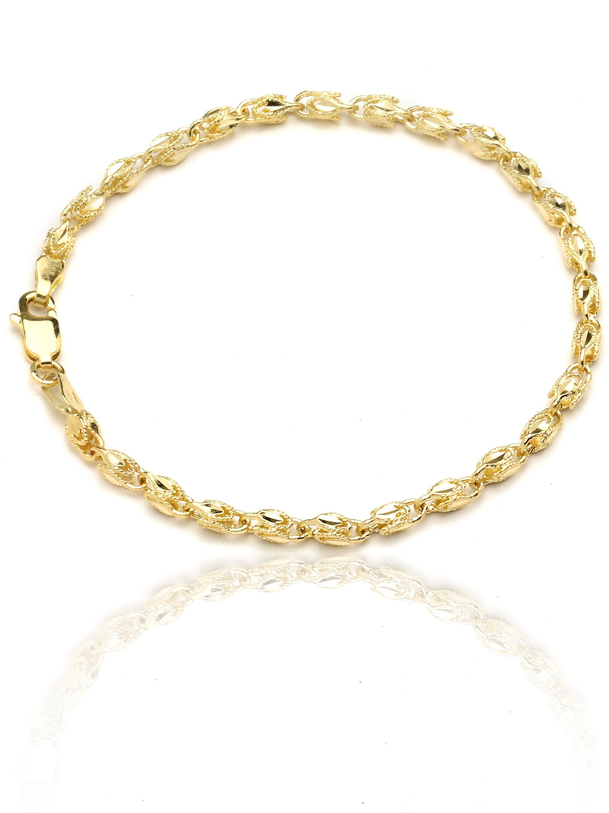 10k Yellow Gold Turkish Rope Chain