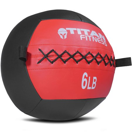 Titan Soft Wall Ball Medicine 6 lb Core Workout Cardio Muscle
