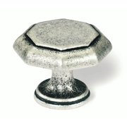 Nuevo Classico Knob 38 mm. Dia. in Antique Silver (Set of 10)