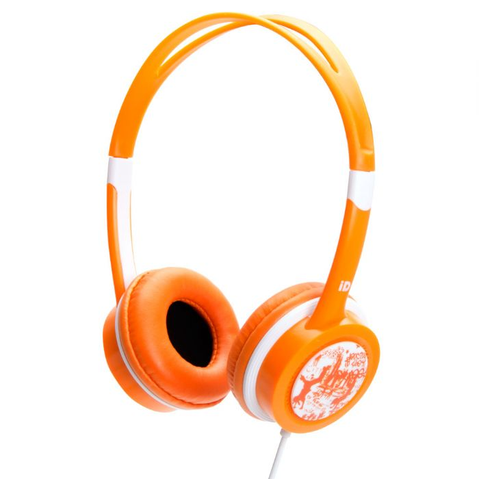 Idance FREE20 Orange Lightweight Headphones Mic