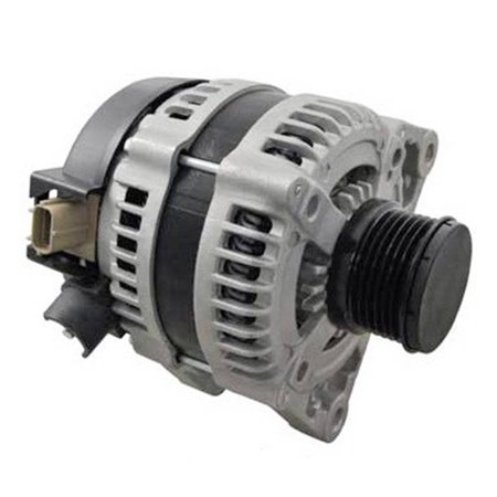 NEW 120A ALTERNATOR FITS EUROPEAN MODEL MAZDA 3 1.6L TURBO DIESEL 2003-ON