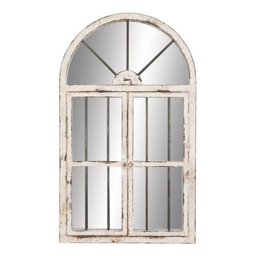 Aspire Home Accents 74397 42-in Arched Window Wall Mirror
