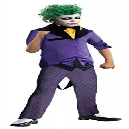 rubies dc super villains the joker costume child medium - Joker Halloween Costume Kids