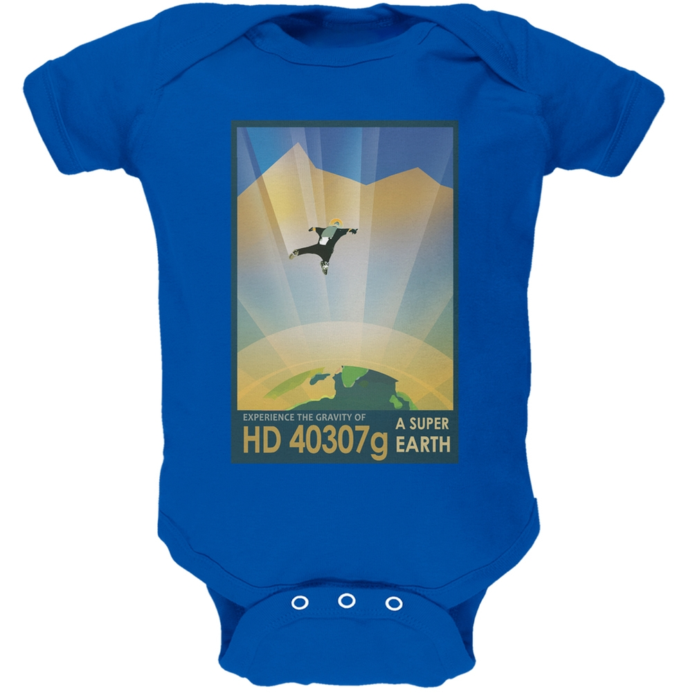 Exoplanet HD 40307g Royal Soft Baby One Piece