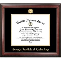 "Georgia Institute of Technology 14"" x 17"" Gold Embossed Diploma Frame"