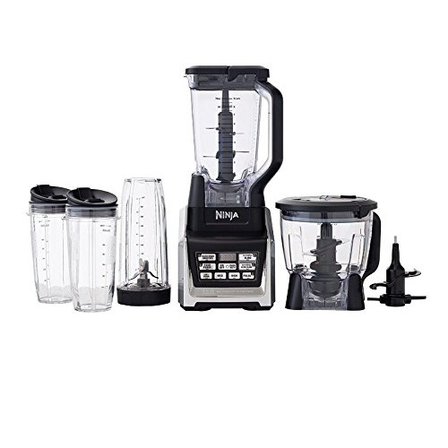 Nutri Ninja Ninja Blender System with Auto-IQ, Includes (2) 24oz and (1) 32oz cups (