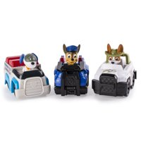 Paw Patrol Racers 3-Pack Vehicle Set (Chase/Robodog/Tracker)