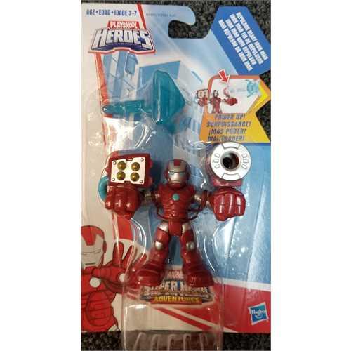 Playskool Heroes Marvel Super Hero Adventures Repulsor Blast Iron Man Figure by
